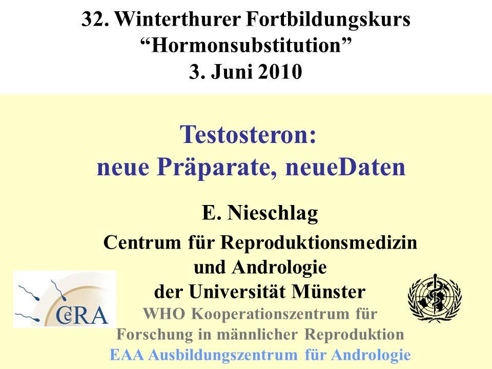 Testosteron: neue Präparate, neueDaten