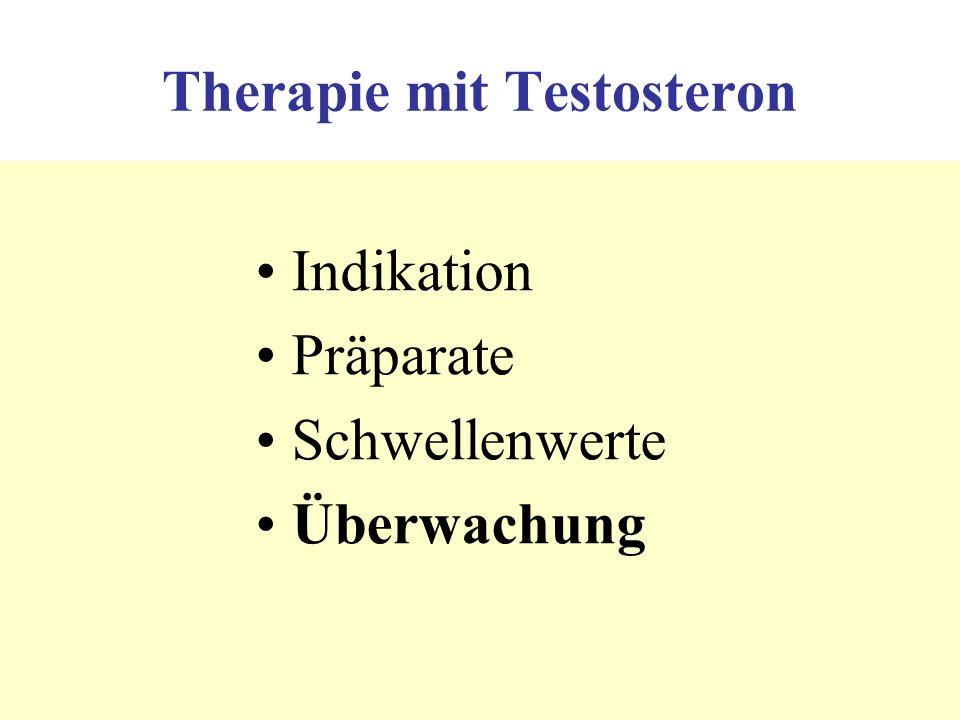 Therapie mit Testosteron