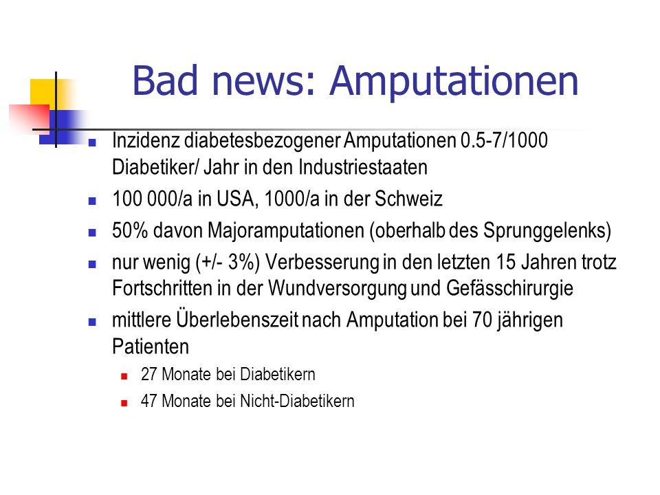 Bad news: Amputationen