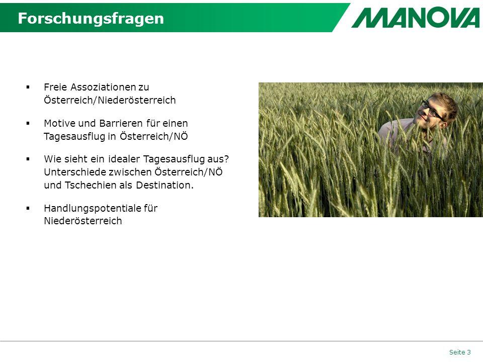 Forschungsfragen Freie Assoziationen zu Österreich/Niederösterreich