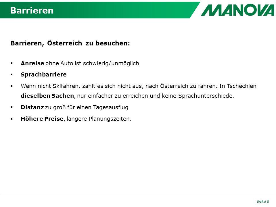 Barrieren Barrieren, Österreich zu besuchen: