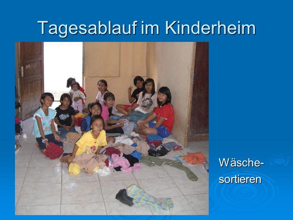 Tagesablauf im Kinderheim