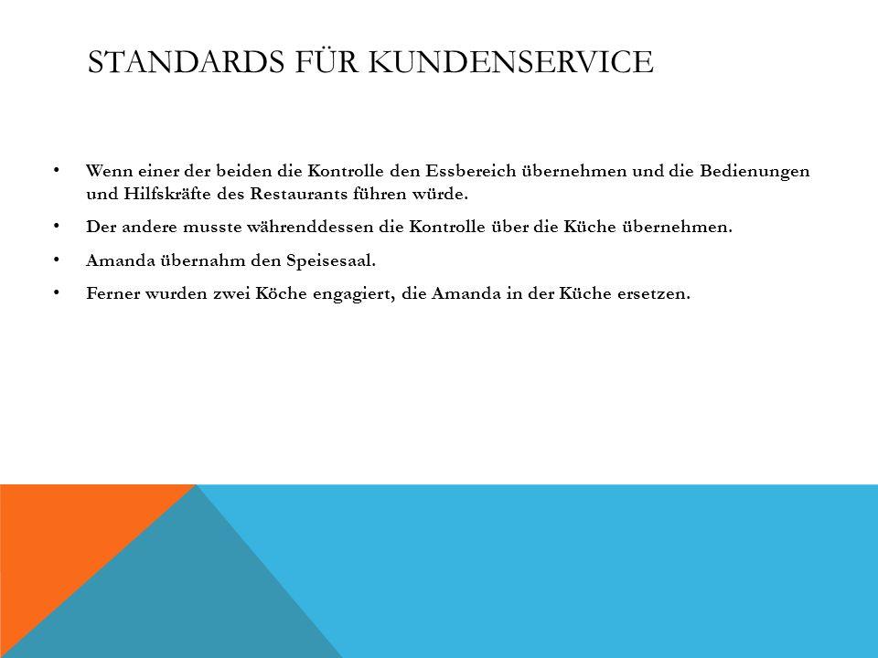 Standards für Kundenservice