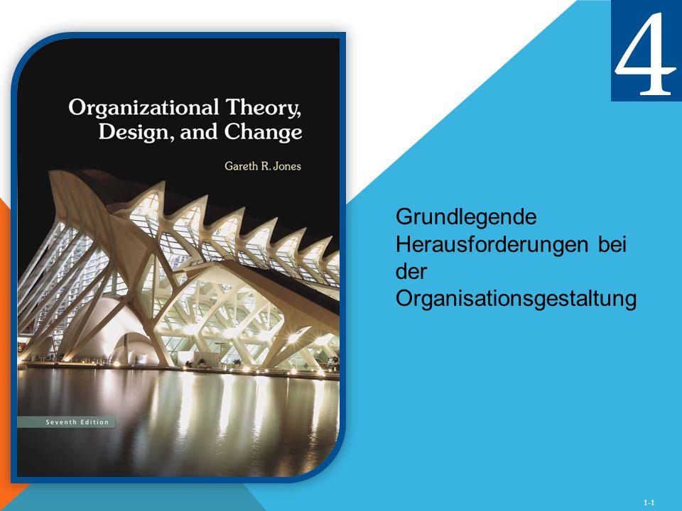 Grundlegende Herausforderungen bei der Organisationsgestaltung
