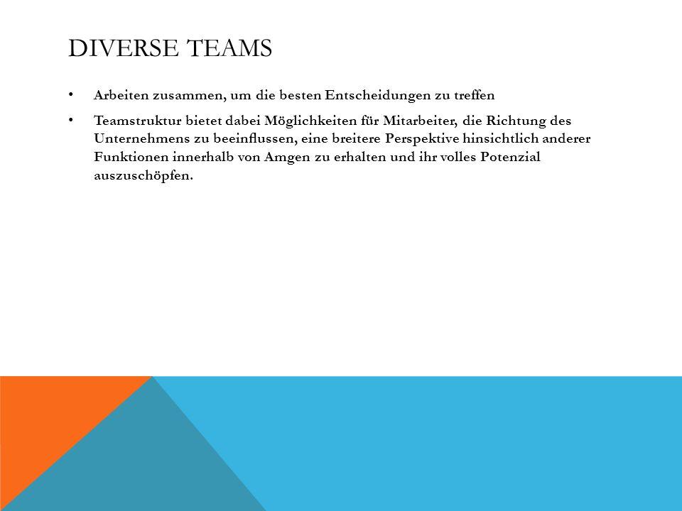 Diverse Teams Arbeiten zusammen, um die besten Entscheidungen zu treffen.
