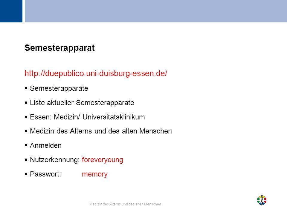 Semesterapparat http://duepublico.uni-duisburg-essen.de/