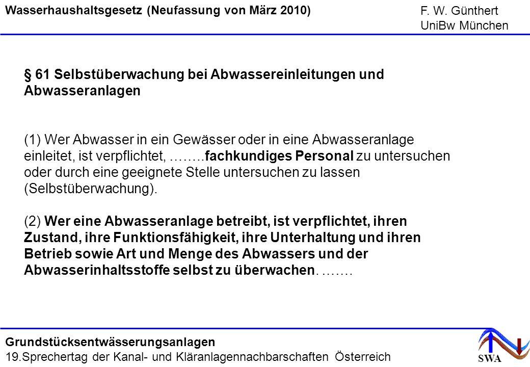 Wasserhaushaltsgesetz (Neufassung von März 2010)