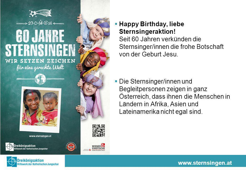 Happy Birthday, liebe Sternsingeraktion