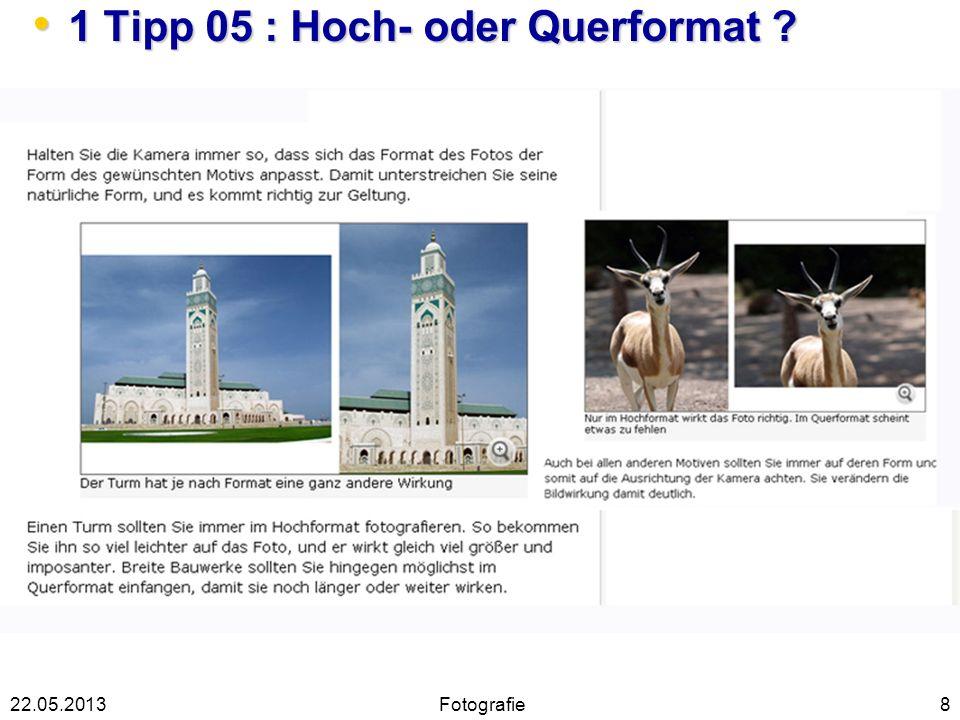 1 Tipp 05 : Hoch- oder Querformat