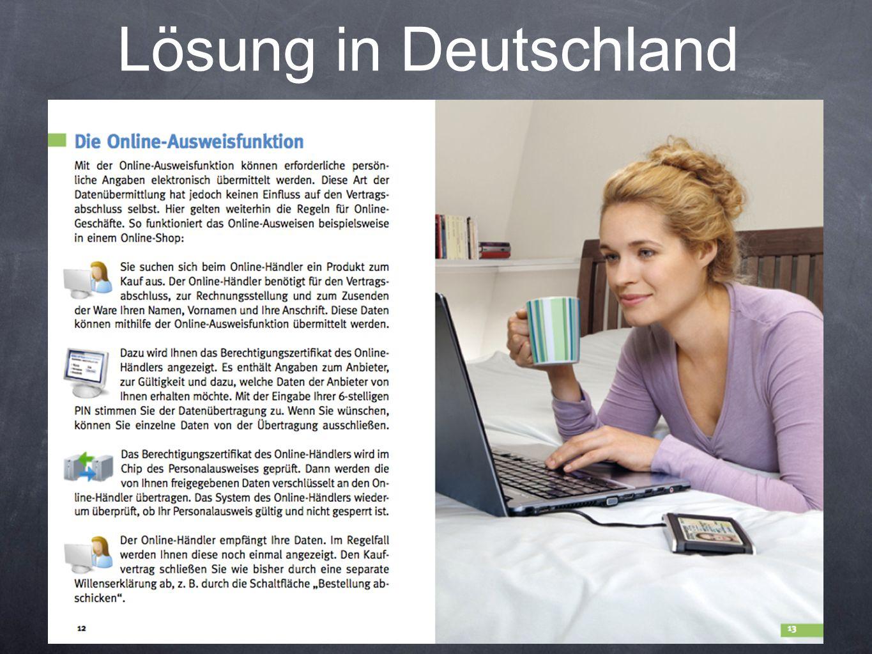 Lösung in Deutschland