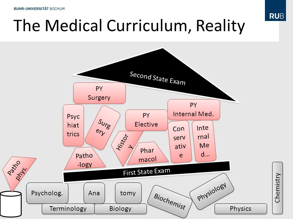 The Medical Curriculum, Reality