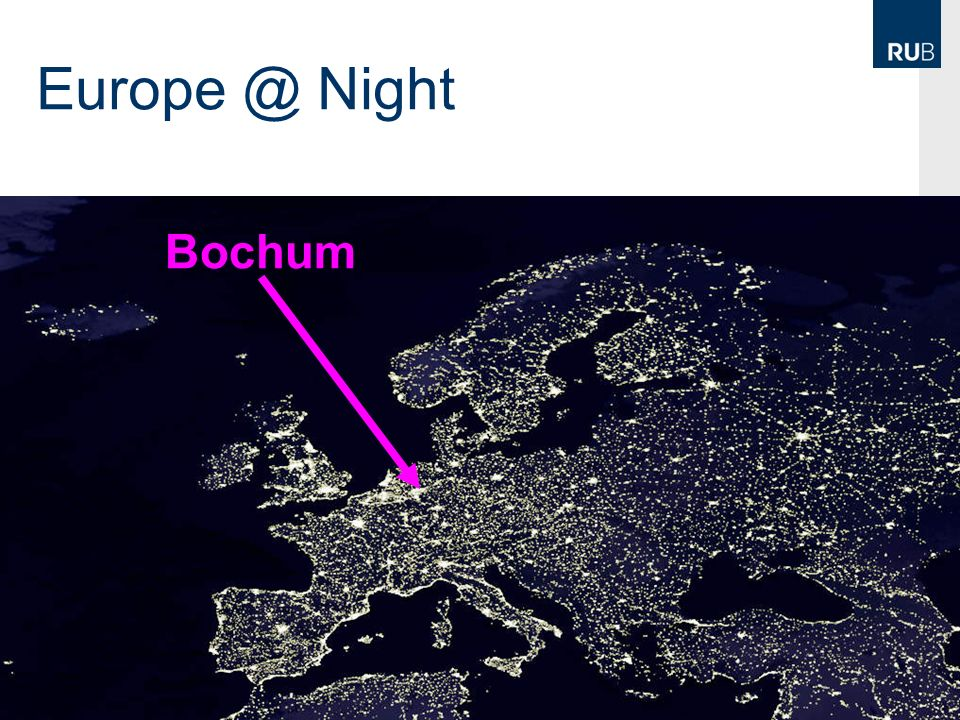 Europe @ Night Bochum