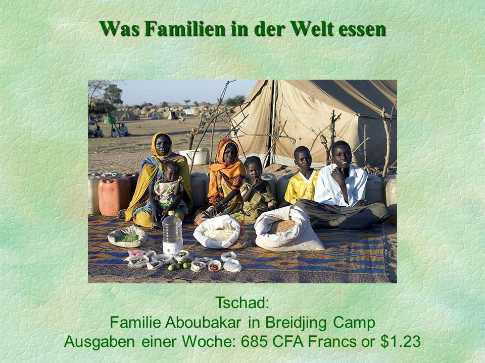 Familie Aboubakar in Breidjing Camp