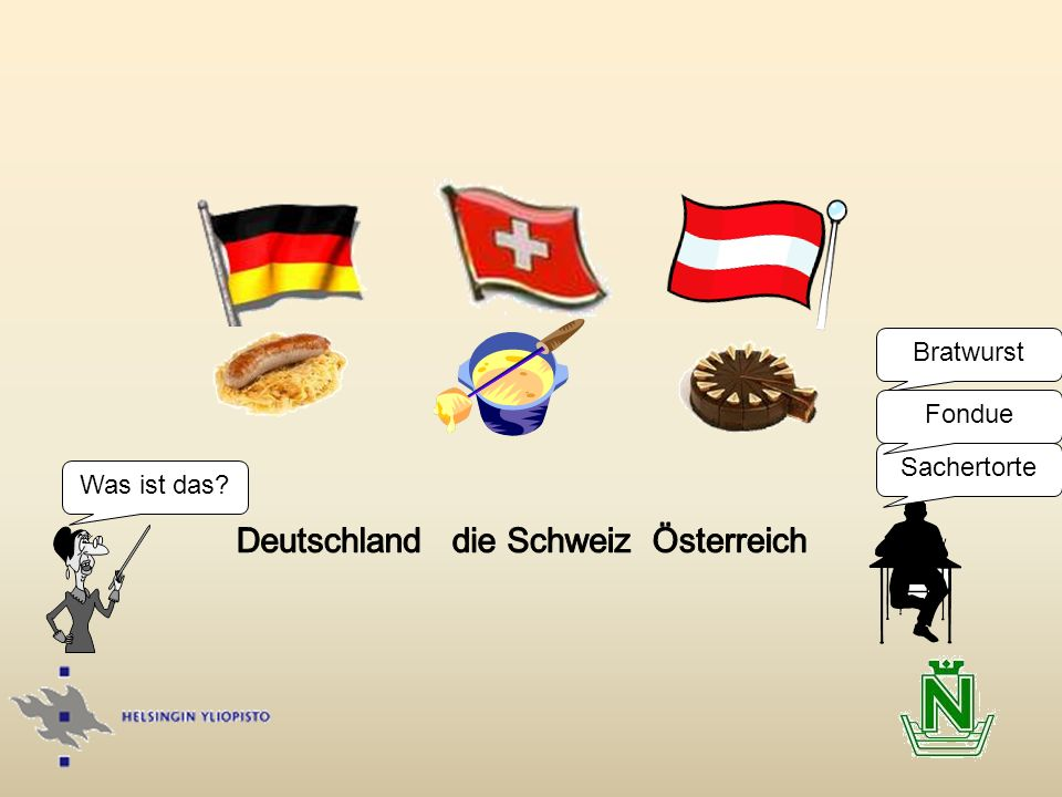 Deutschland die Schweiz Österreich