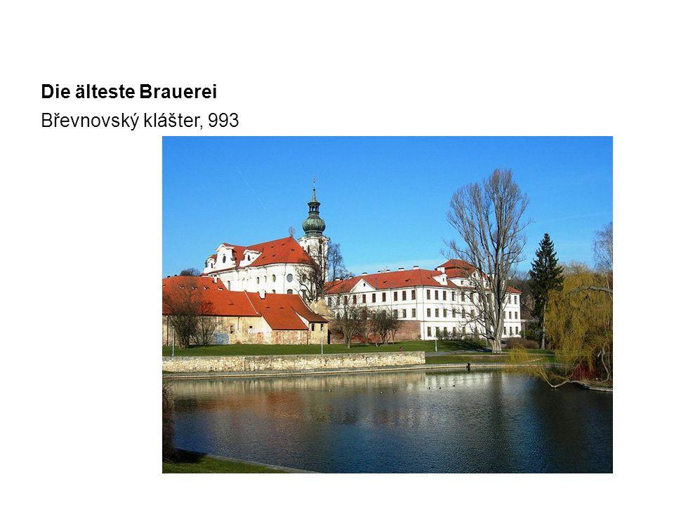 Die älteste Brauerei Břevnovský klášter, 993