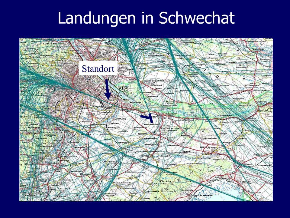Landungen in Schwechat