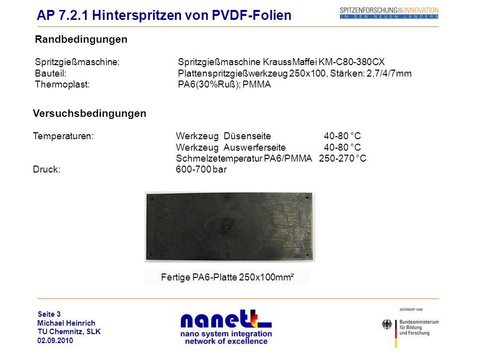 Fertige PA6-Platte 250x100mm²