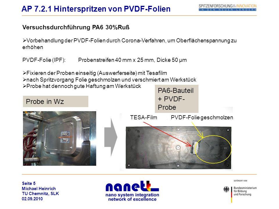 PVDF-Folie geschmolzen