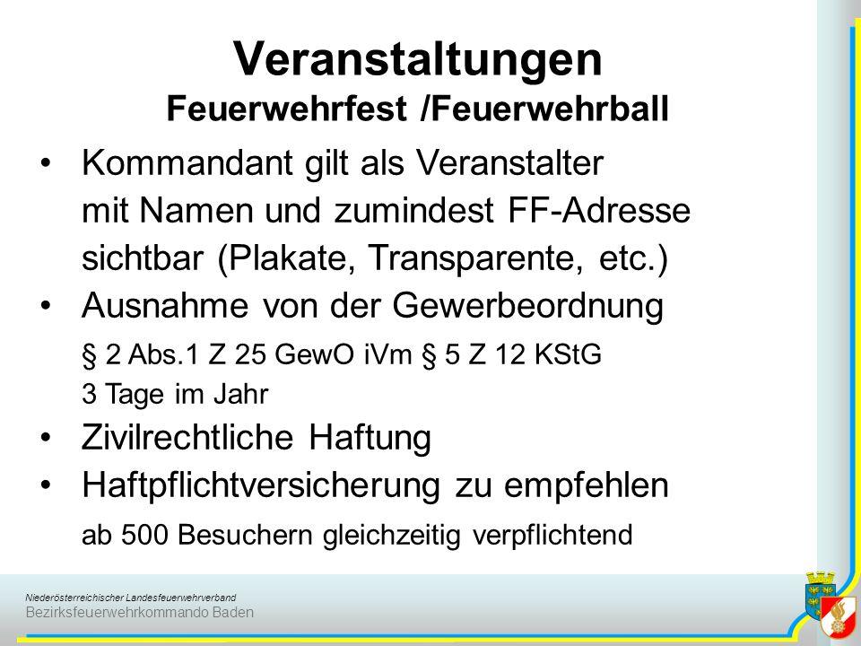 Veranstaltungen Feuerwehrfest /Feuerwehrball