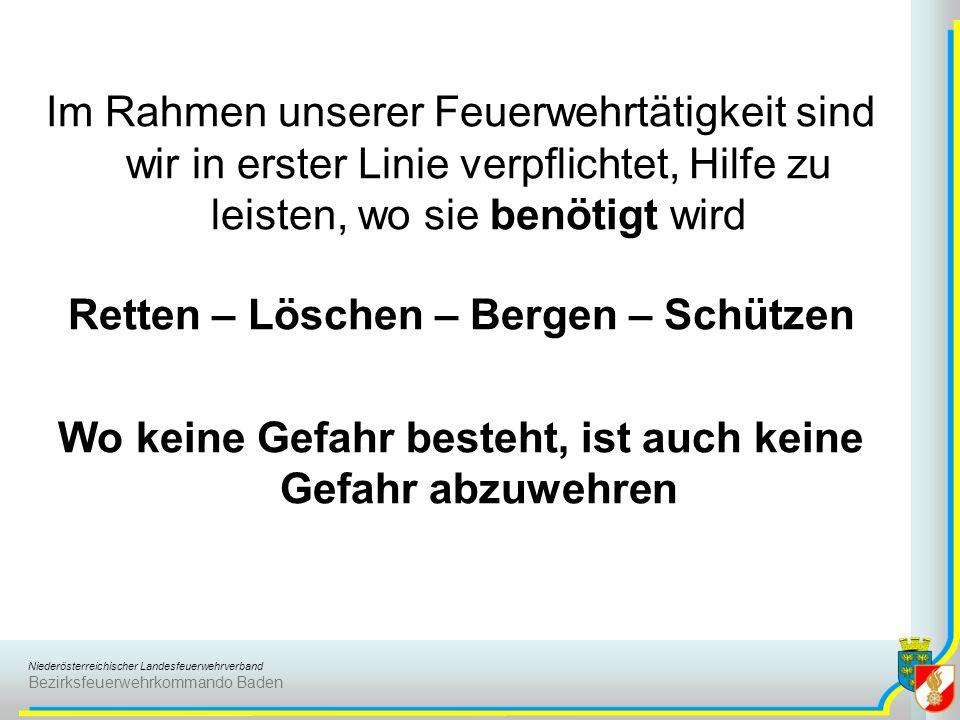 Retten – Löschen – Bergen – Schützen
