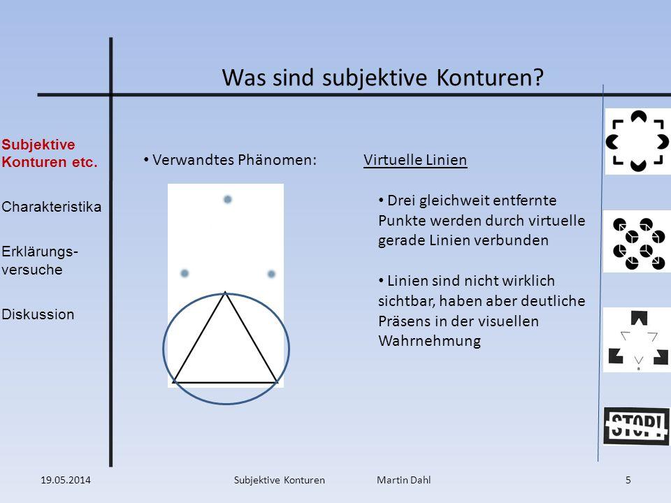 Was sind subjektive Konturen