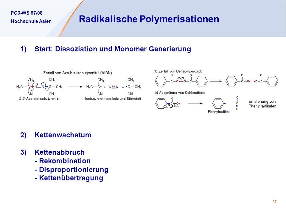 Radikalische Polymerisationen