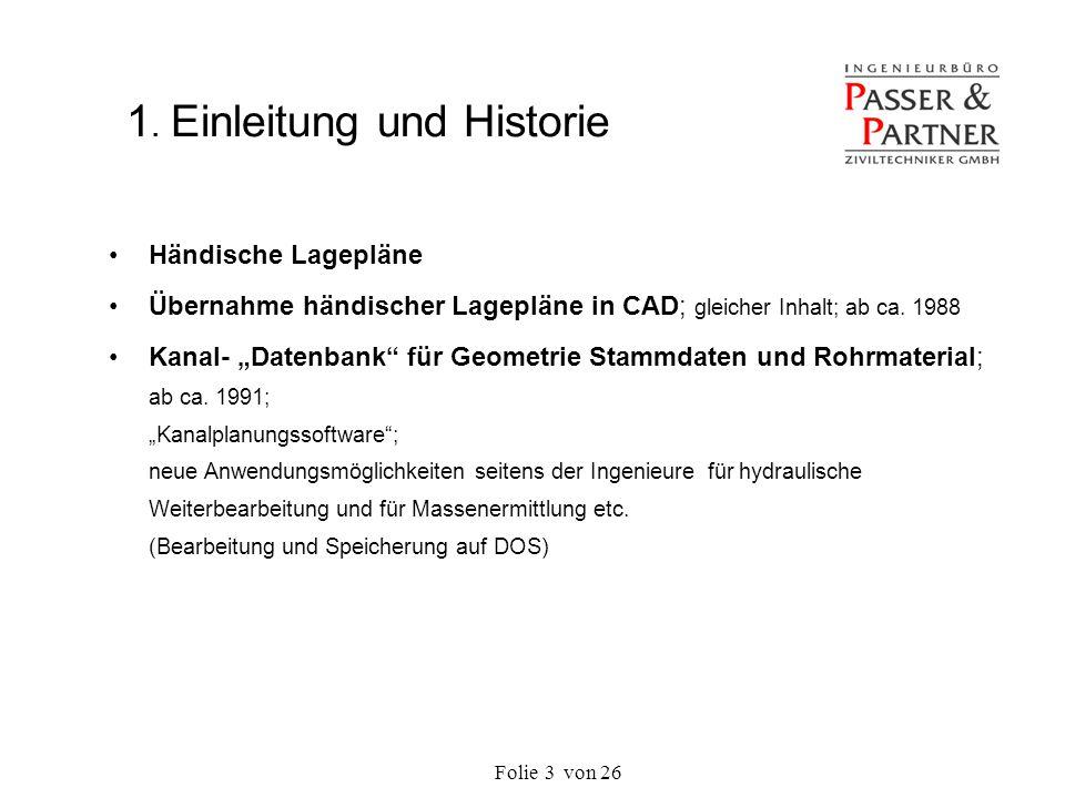 1. Einleitung und Historie