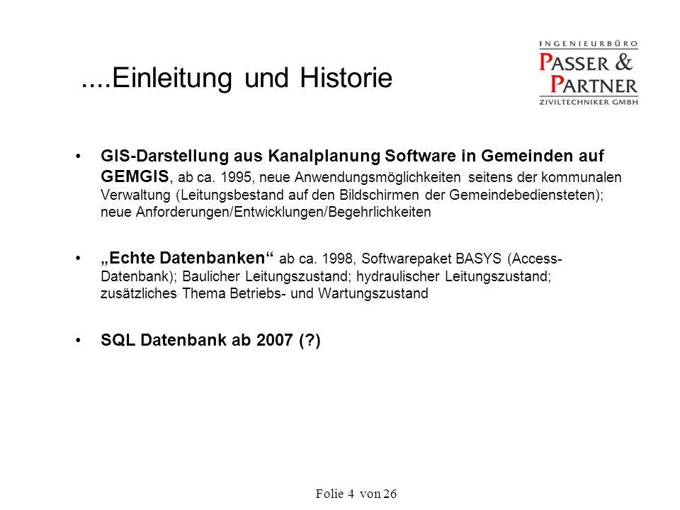 ....Einleitung und Historie