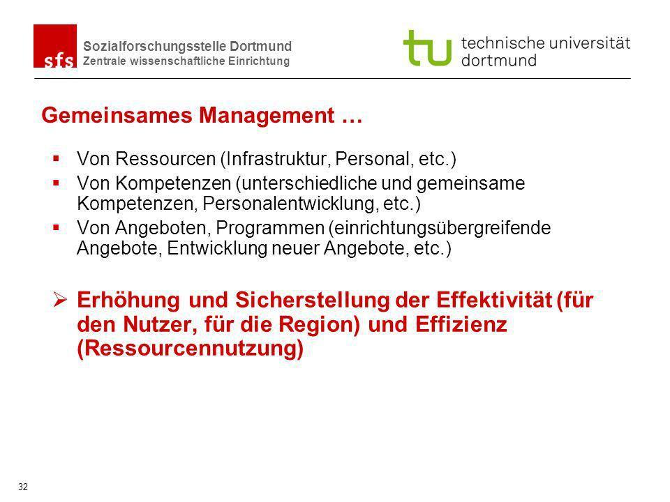 Gemeinsames Management …