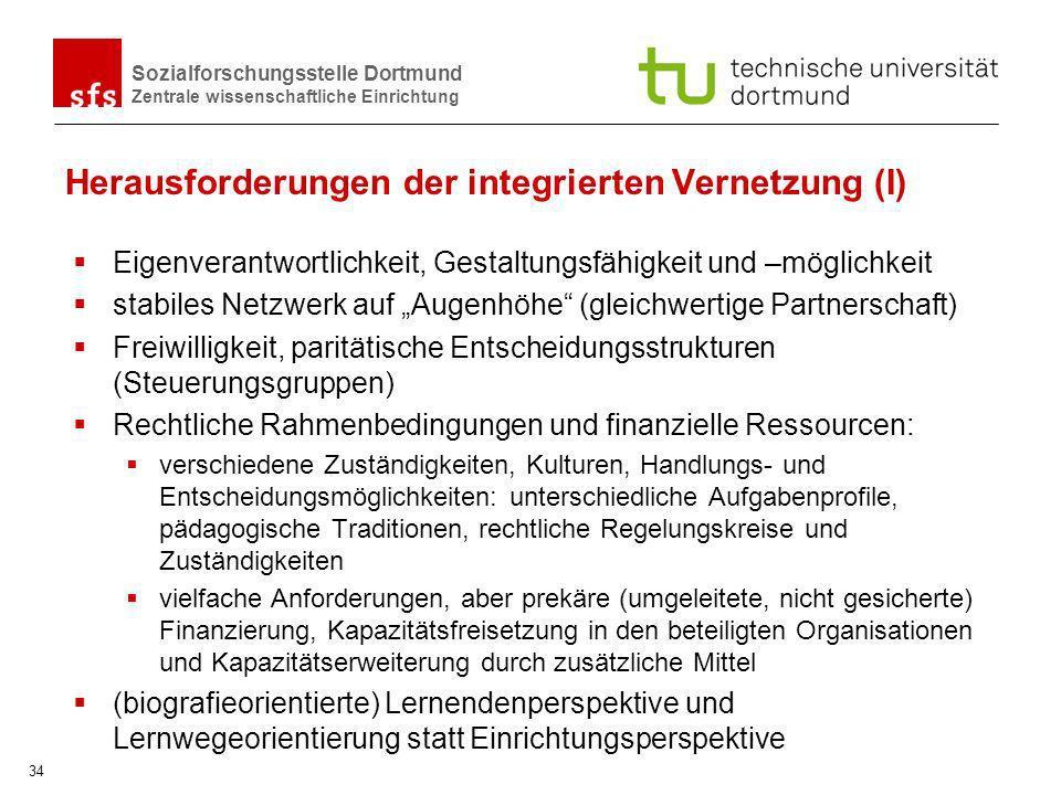 Herausforderungen der integrierten Vernetzung (I)
