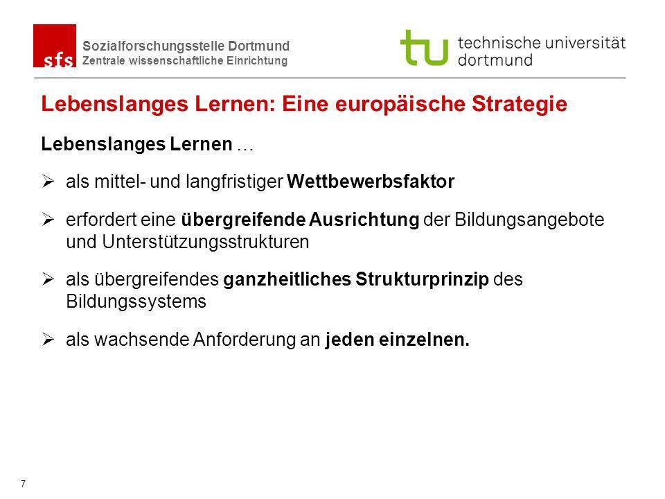 Lebenslanges Lernen: Eine europäische Strategie