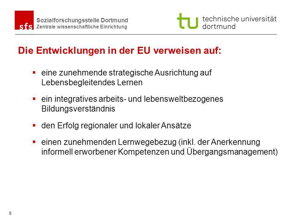 Die Entwicklungen in der EU verweisen auf: