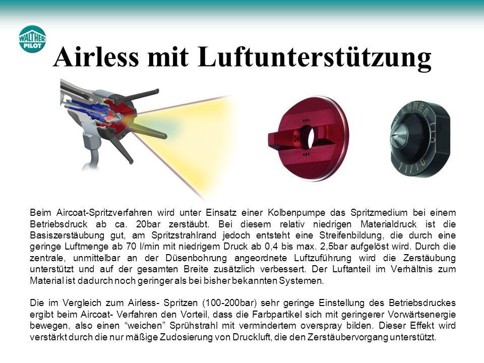 Airless mit Luftunterstützung