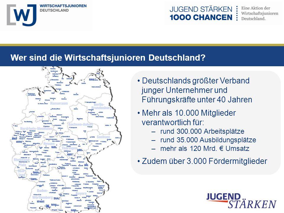 Wer sind die Wirtschaftsjunioren Deutschland