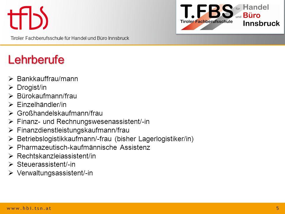 Lehrberufe Bankkauffrau/mann Drogist/in Bürokaufmann/frau