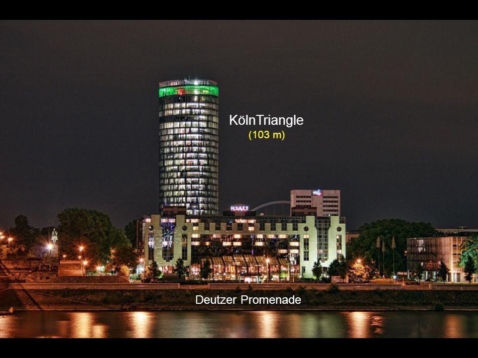 KölnTriangle (103 m) Deutzer Promenade