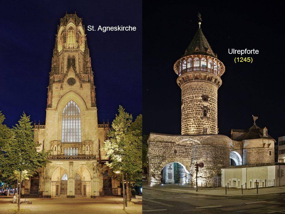 St. Agneskirche Ulrepforte (1245)