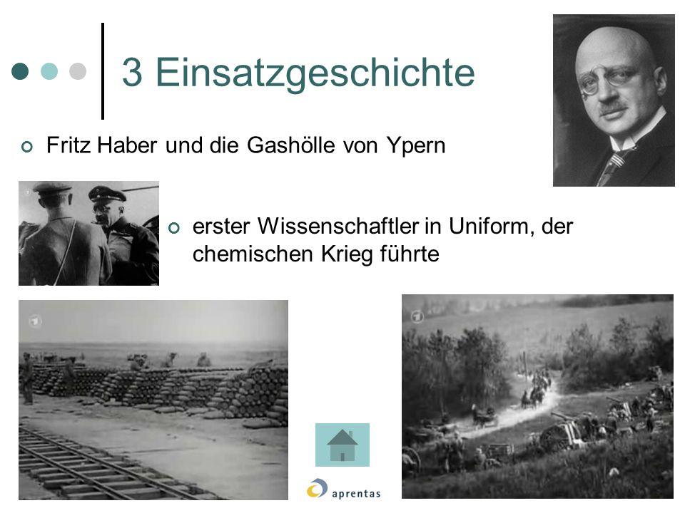 3 Einsatzgeschichte Fritz Haber und die Gashölle von Ypern
