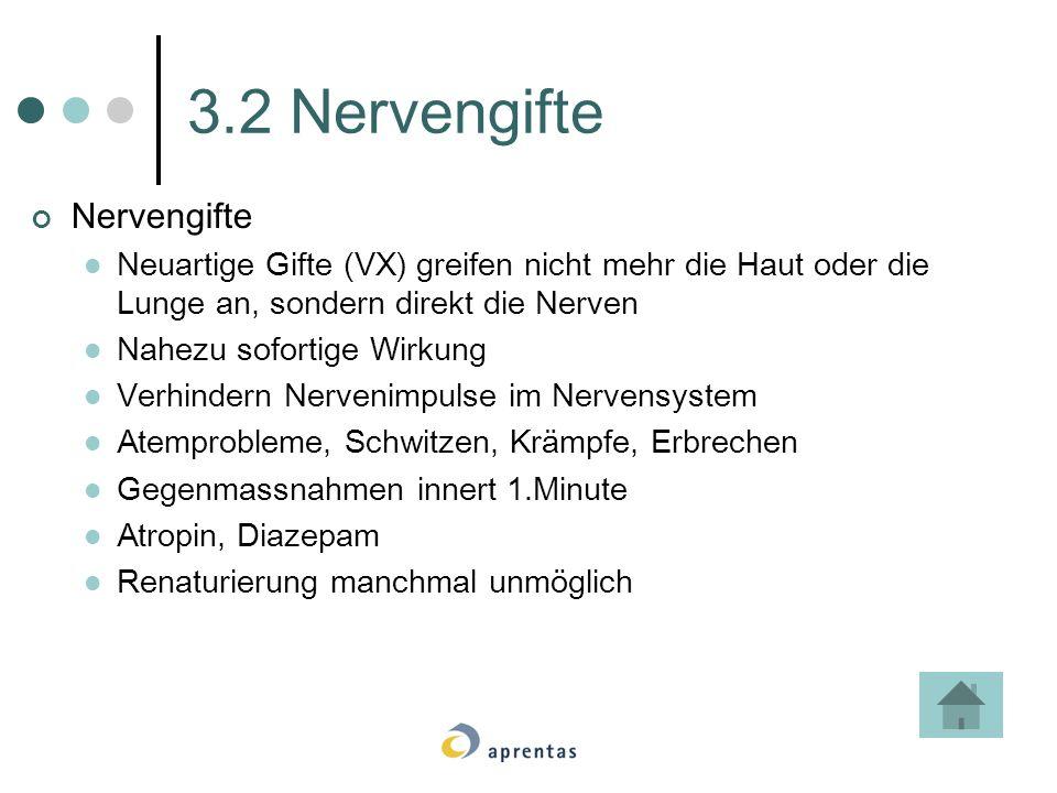 3.2 Nervengifte Nervengifte