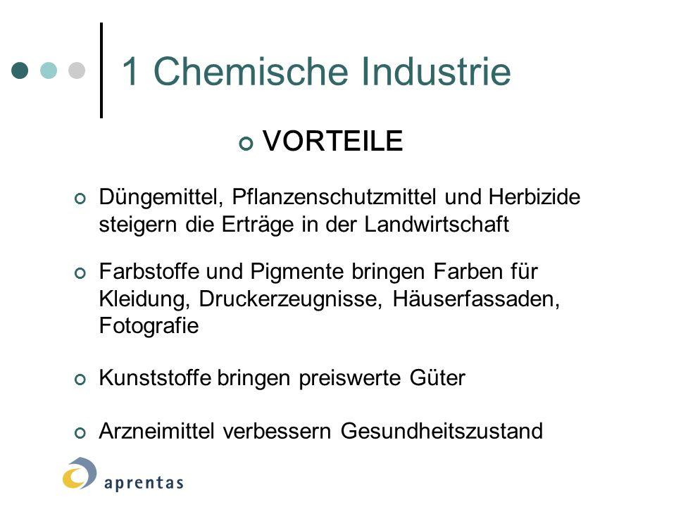 1 Chemische Industrie VORTEILE