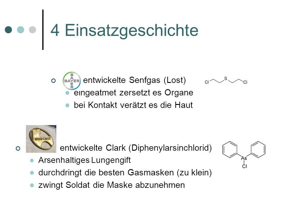 4 Einsatzgeschichte entwickelte Senfgas (Lost)