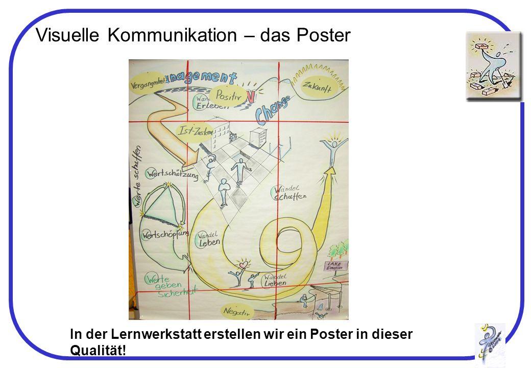 Visuelle Kommunikation – das Poster