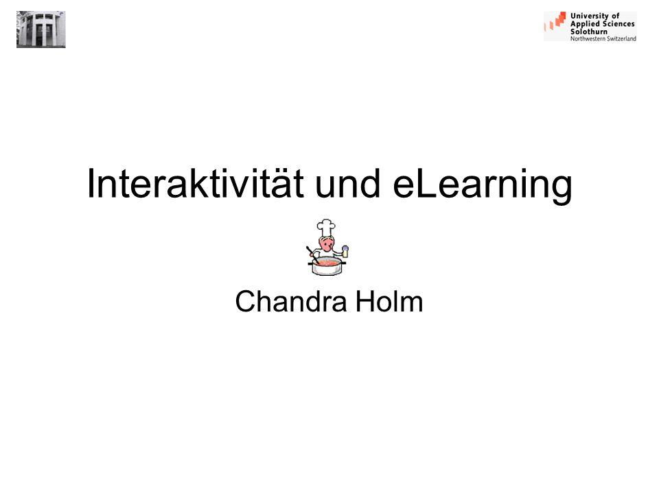 Interaktivität und eLearning