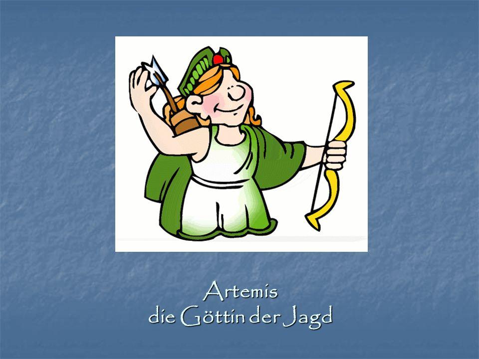Artemis die Göttin der Jagd