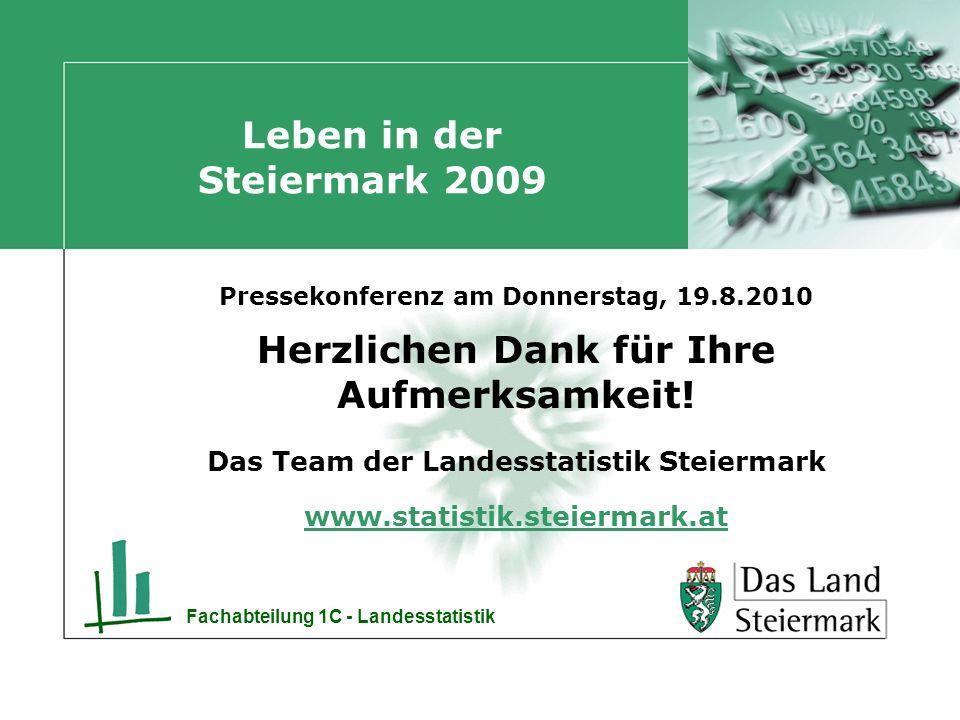 Leben in der Steiermark 2009