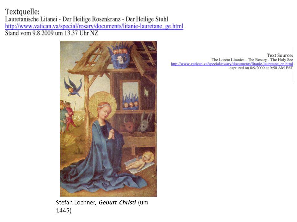 Stefan Lochner, Geburt Christi (um 1445)
