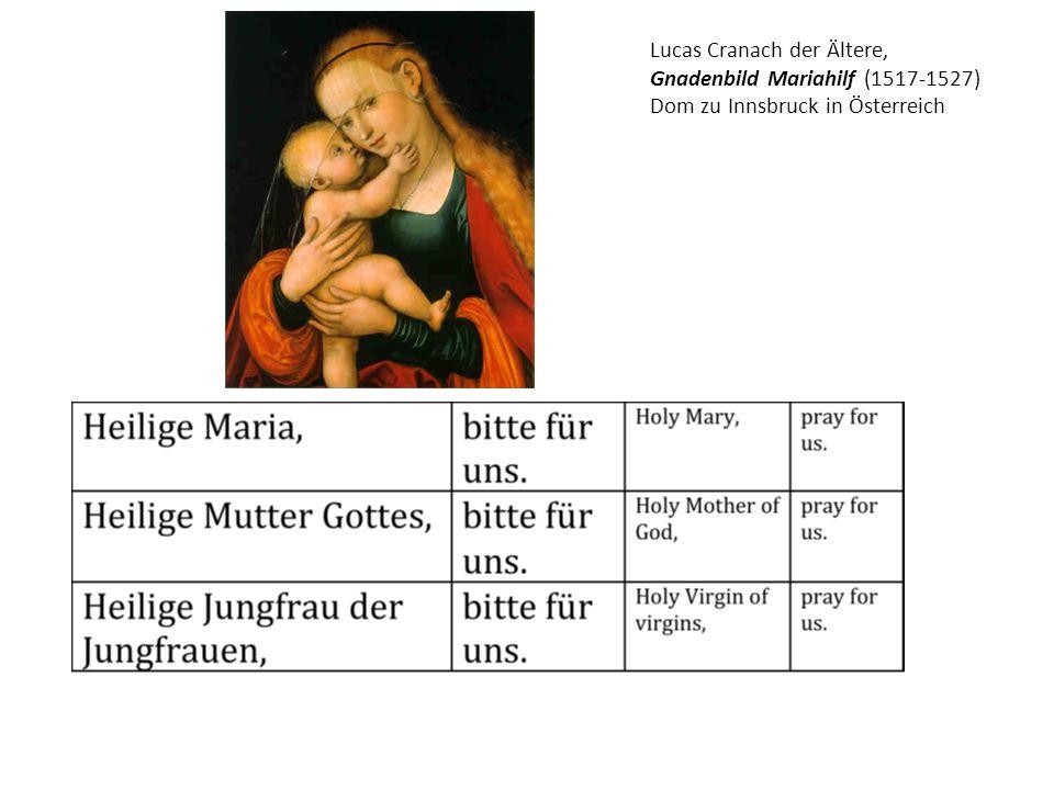 Lucas Cranach der Ältere,