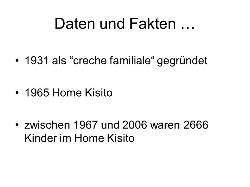 Daten und Fakten … 1931 als creche familiale gegründet