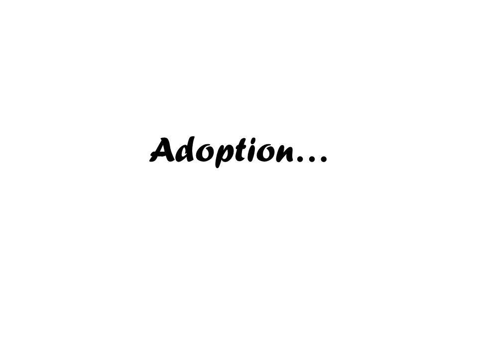 Adoption…
