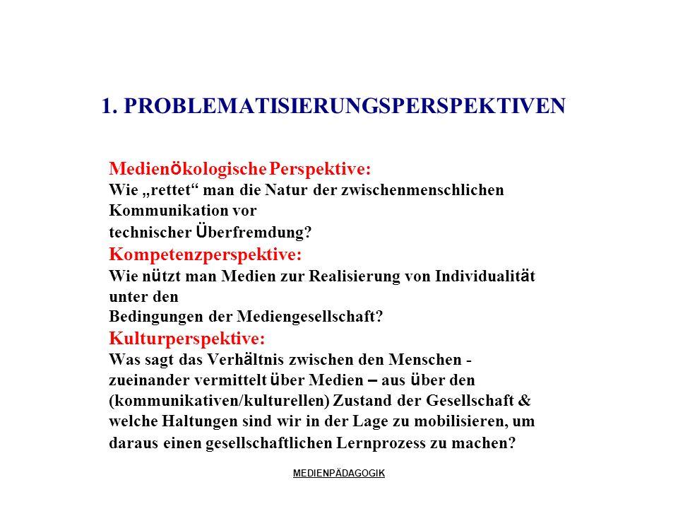 1. PROBLEMATISIERUNGSPERSPEKTIVEN